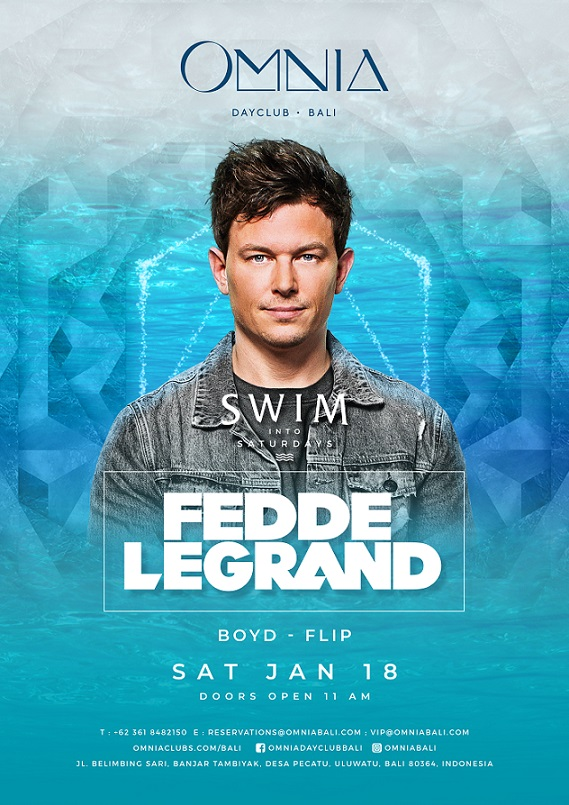SWIM into Saturdays with Fedde Le Grand