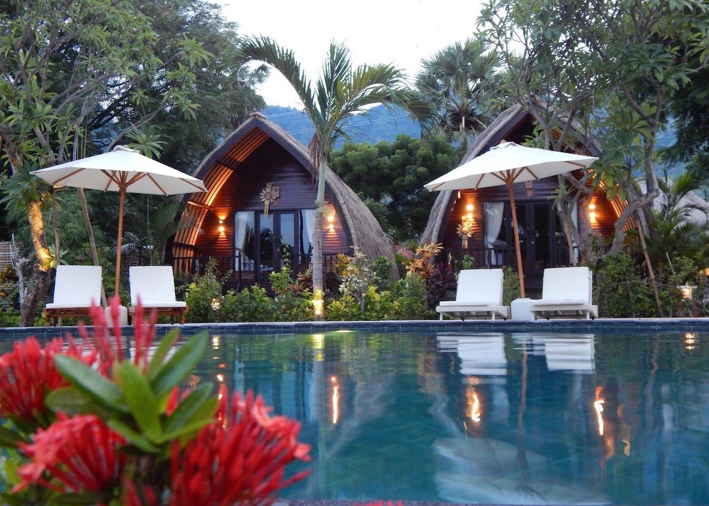 Kinaara Resort & Spa in Pemuteran, North Bali, Indonesia