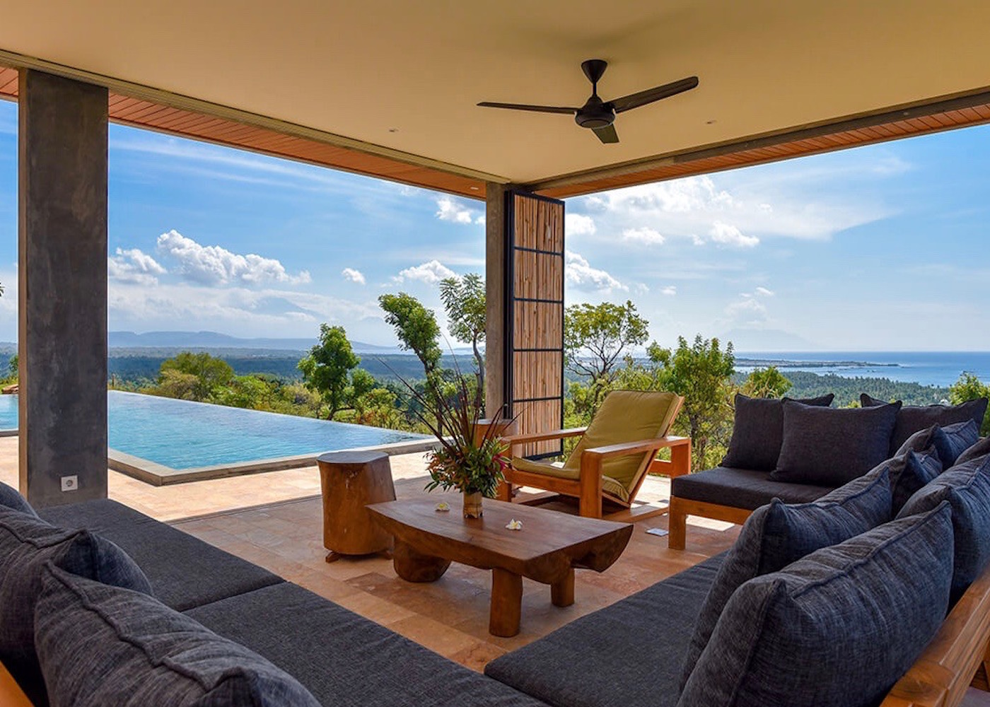 Sumberkima Hill villa in Pemuteran, North Bali, Indonesia
