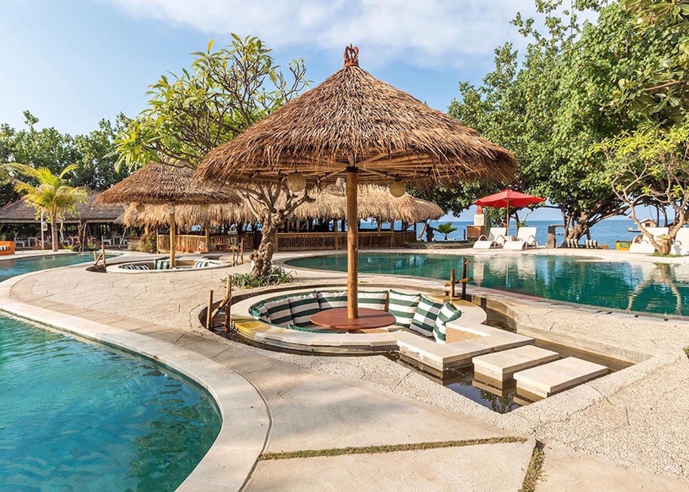Taman Sari Resort in Pemuteran, North Bali, Indonesia