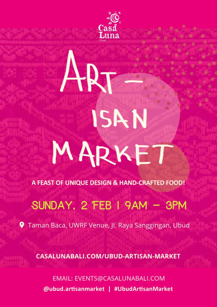 The 7th Ubud Artisan Market