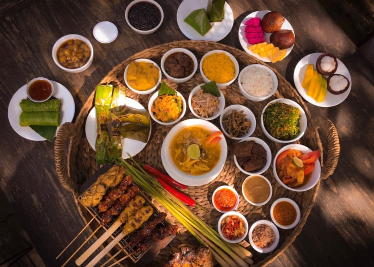 Head to Warung Nia for a taste of traditional Balinese dishes in the heart of Seminyak