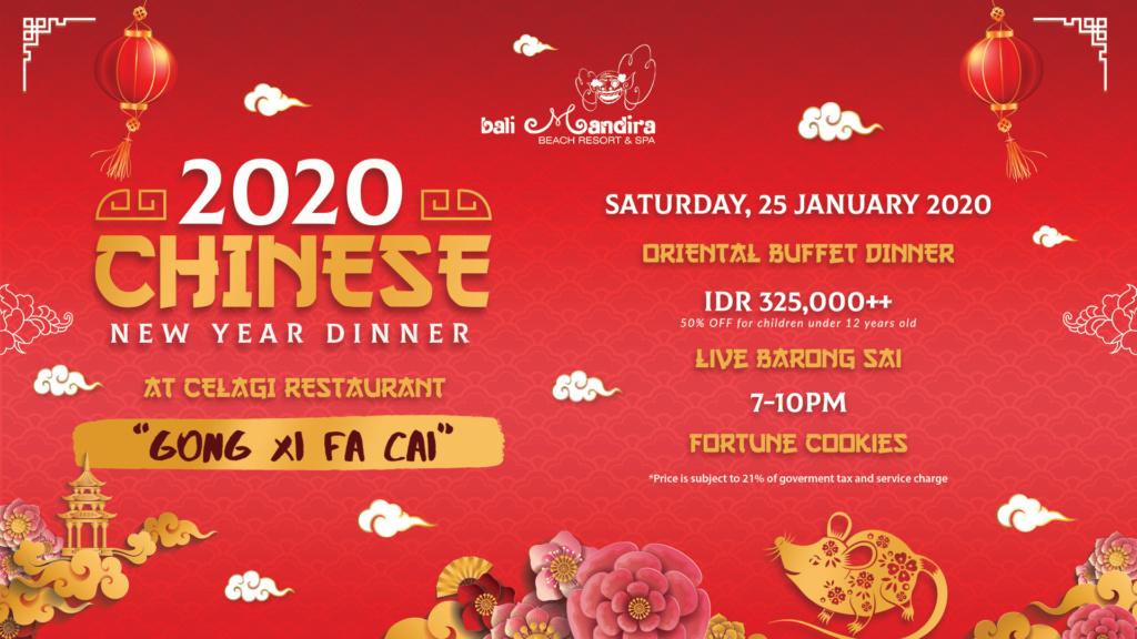 Chinese New Year at Bali Mandira Beach Resort & Spa