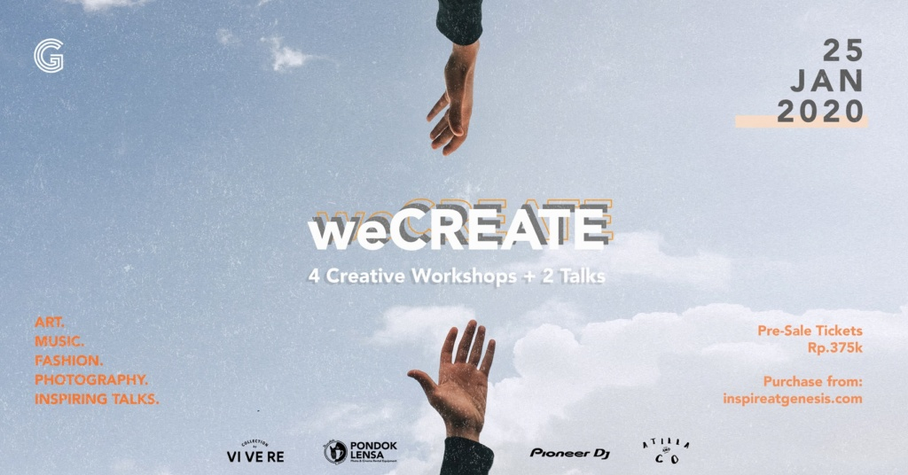 weCREATE by Genesis Creative Centre
