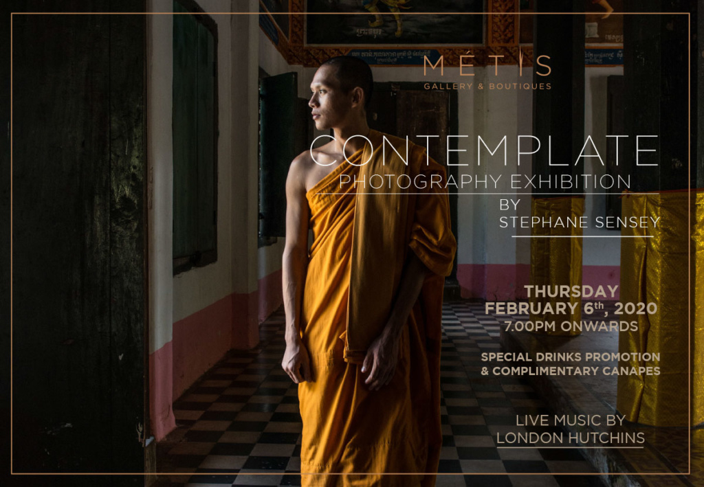 CONTEMPLATE Art Exhibition By Stephane Sensey & London Hutchins