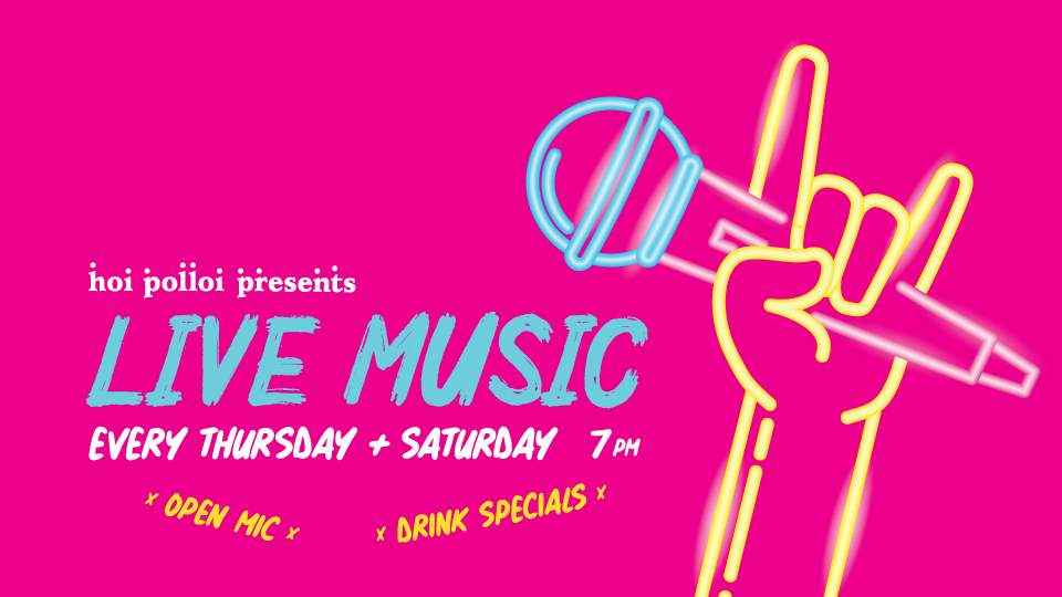 LIVE MUSIC Every Thurs & Sat