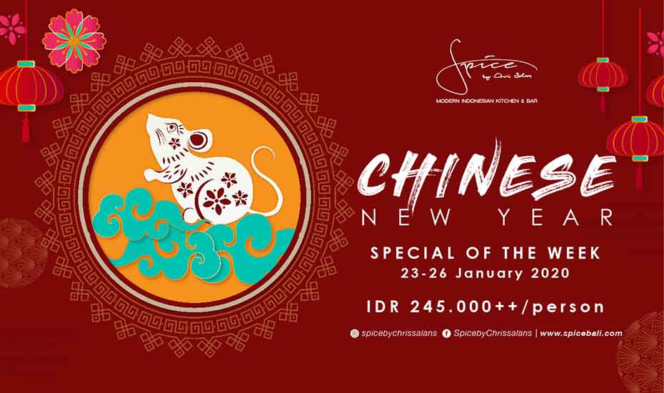Chinese New Year Special Menu