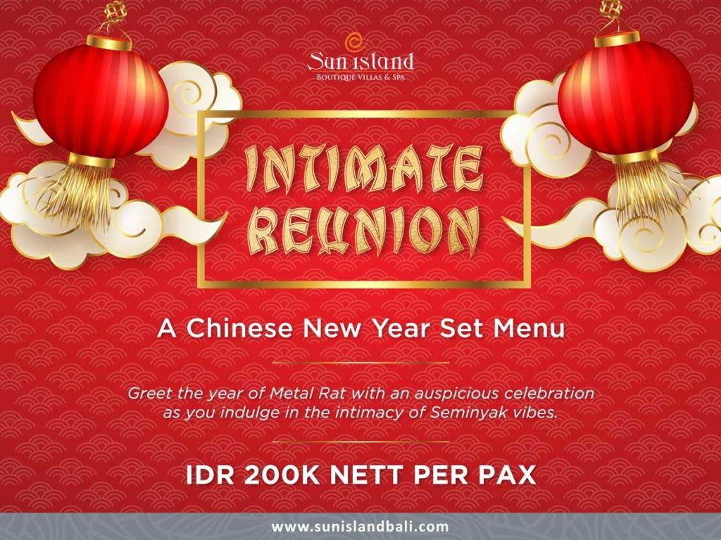 Intimate Reunion: A Chinese New Year Set Menu