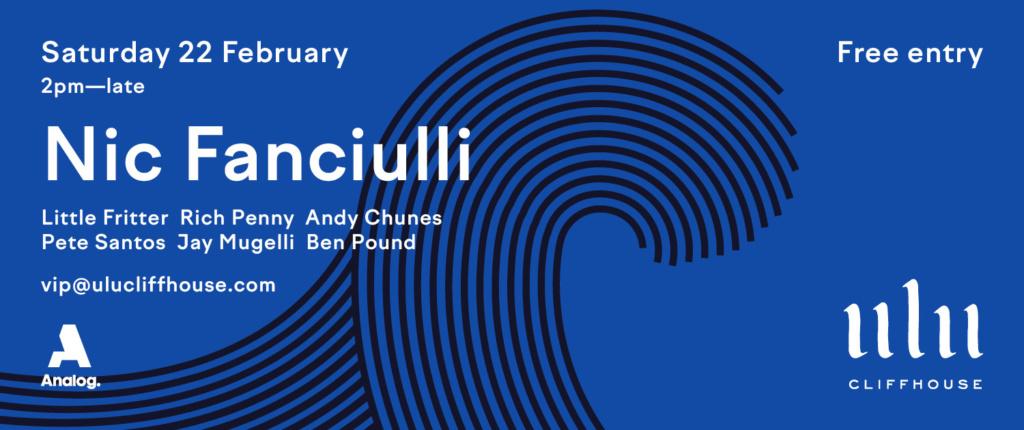 Ulu Cliffhouse presents Nic Fanciulli
