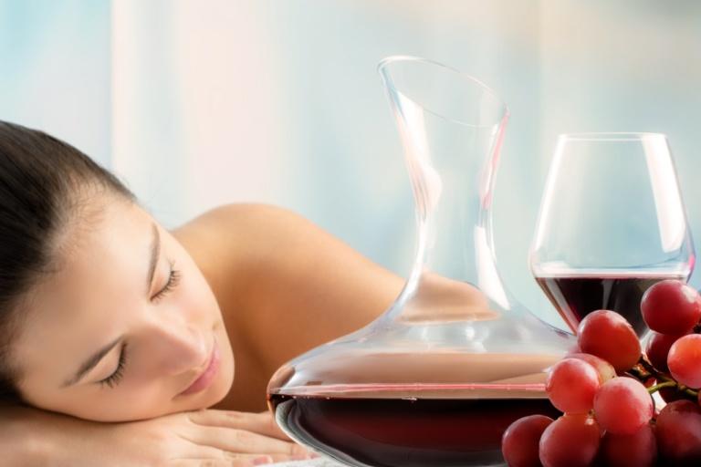 Wine Massage