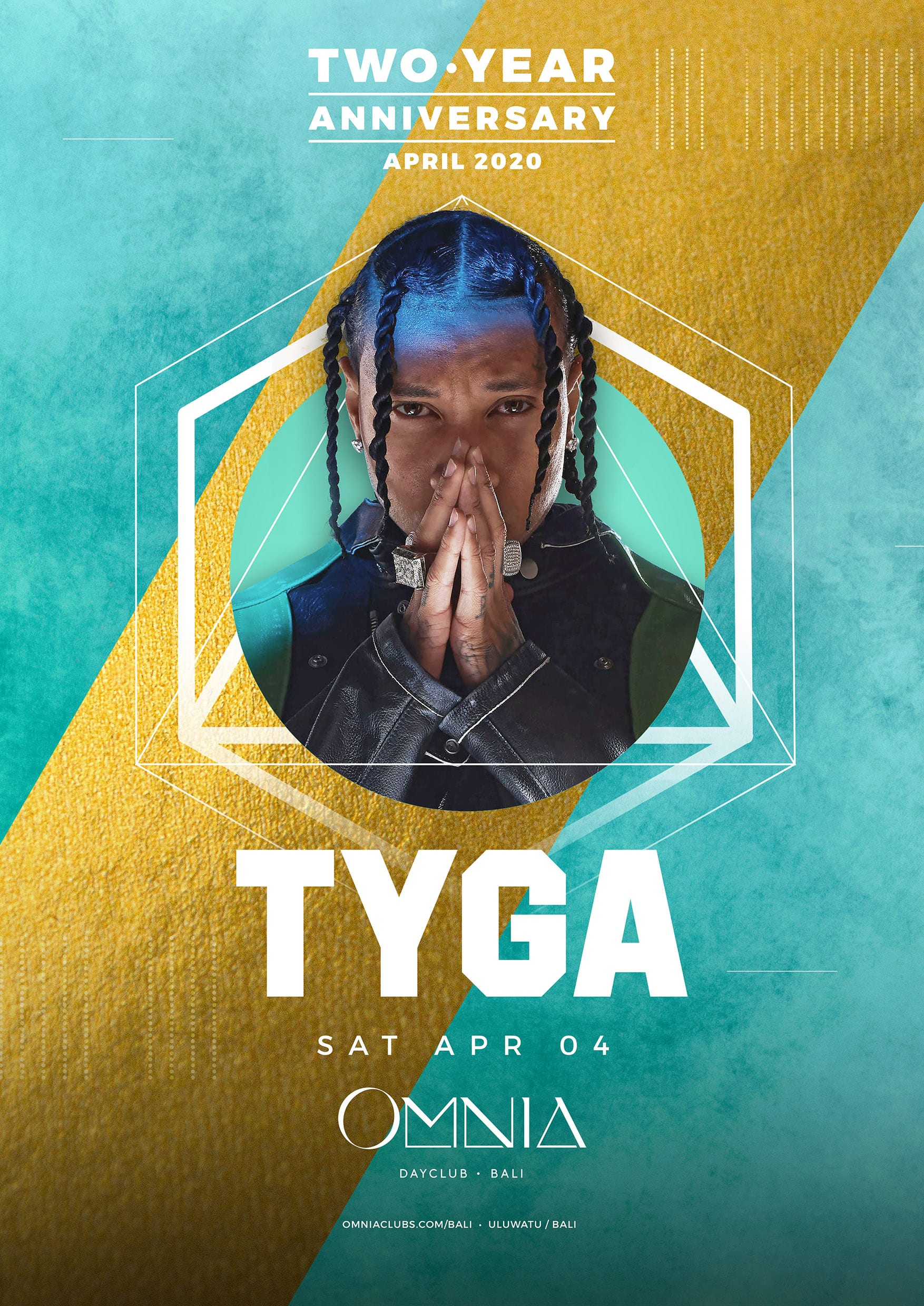 OMNIA Bali Two Year Anniversary with Tyga