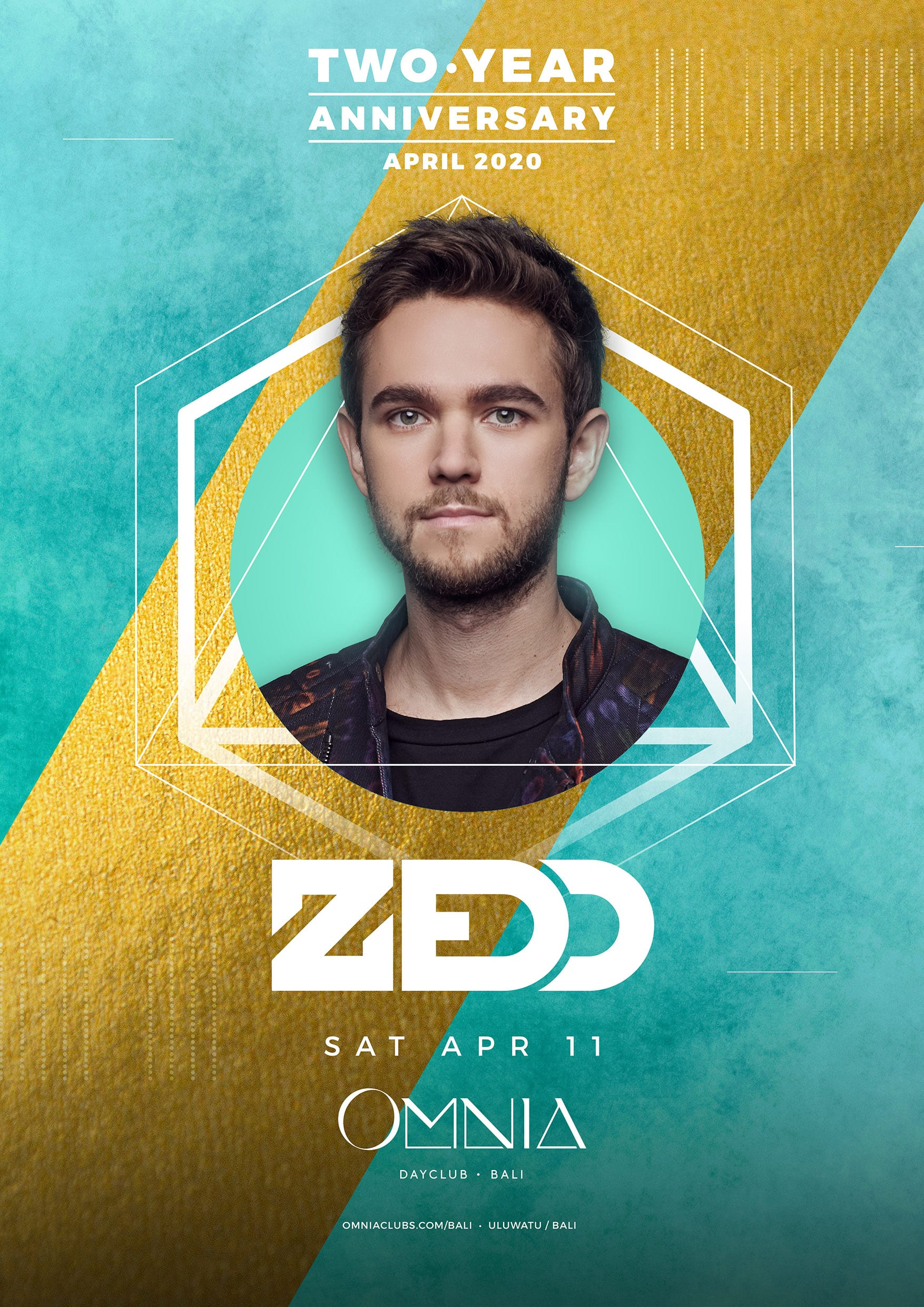 OMNIA Bali Two Year Anniversary with Zedd