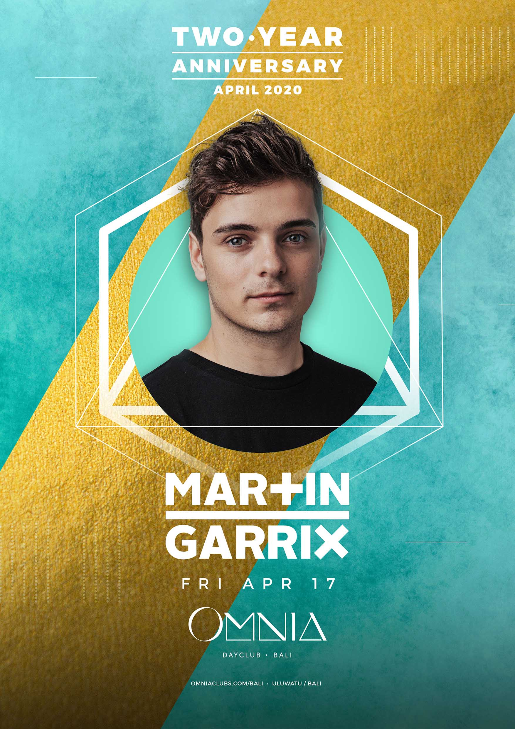 OMNIA Bali Two Year Anniversary with Martin Garrix