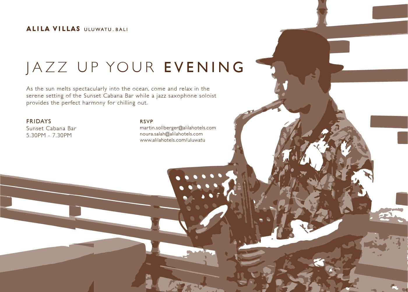 Alila Villas Uluwatu : Jazz Up Your Evening