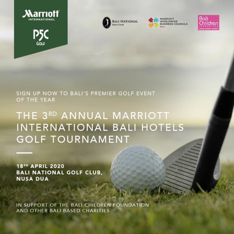 3rd Annual Marriott International Bali Hotels Golf Tournament