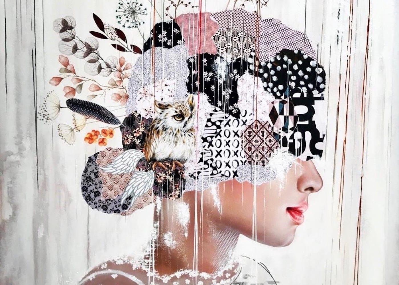 Hello Honey! We meet Irene Hoff – Bali's Artist in Residence famous for her feminine canvas creations