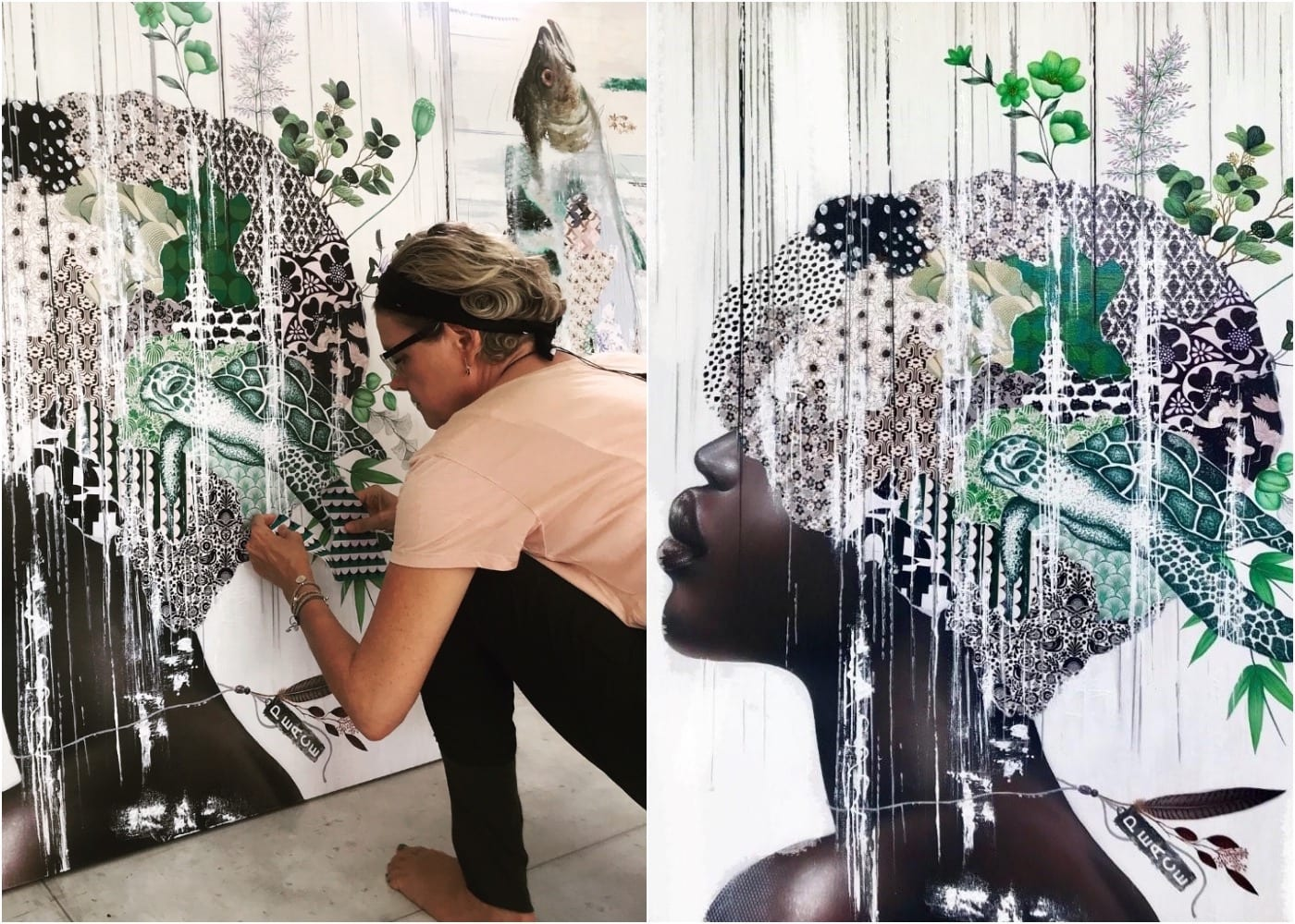 Interview with Irene Hoff - Bali's Artist in Residence