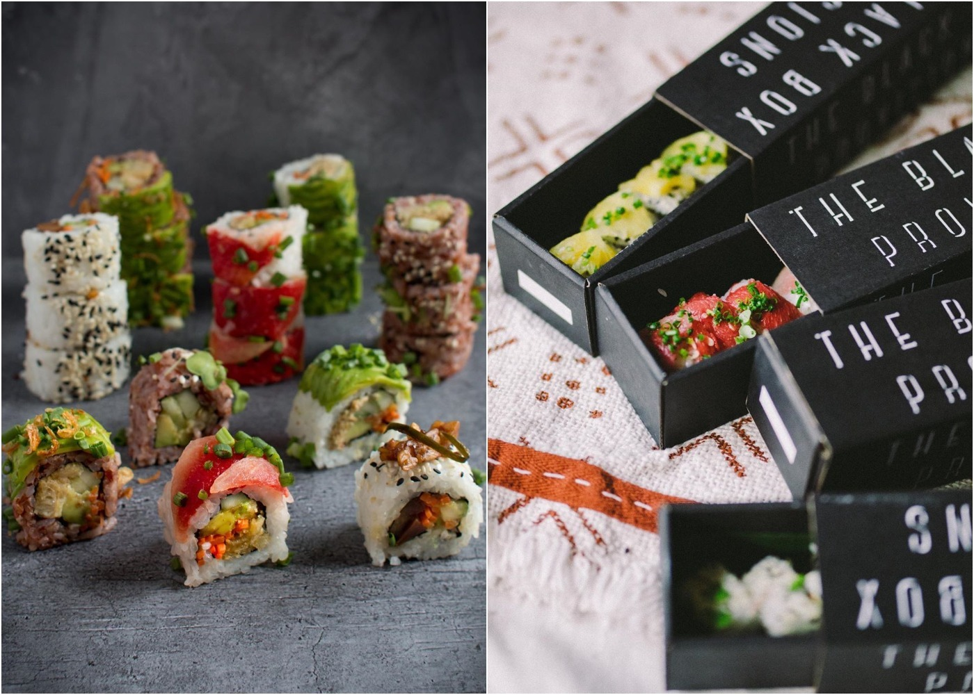 The Black Box Provisions - best new sushi restaurant in Bali