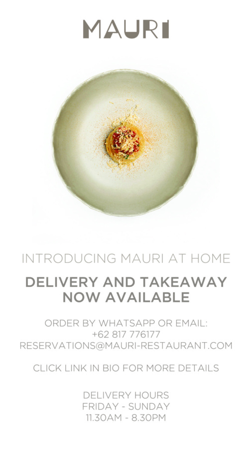 MAURI Restaurant: Delivery and Take away