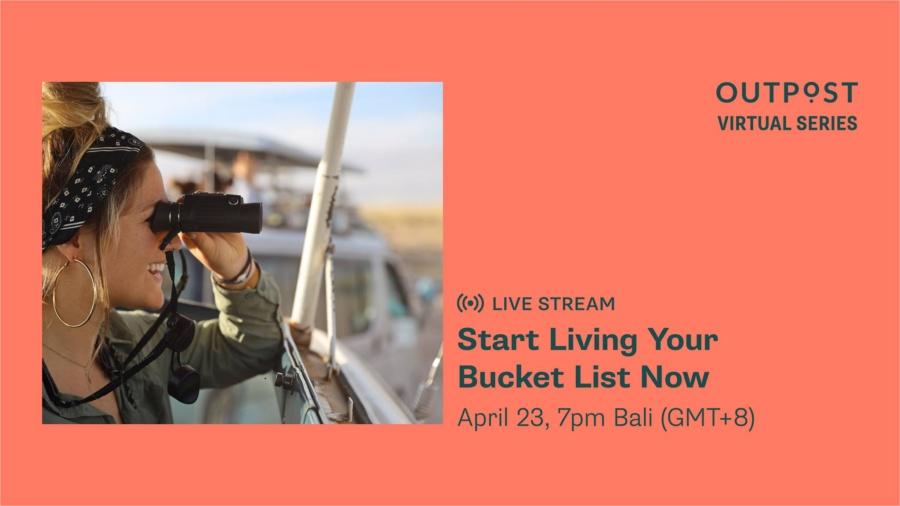 Live Stream: Start Living Your Bucket List Now