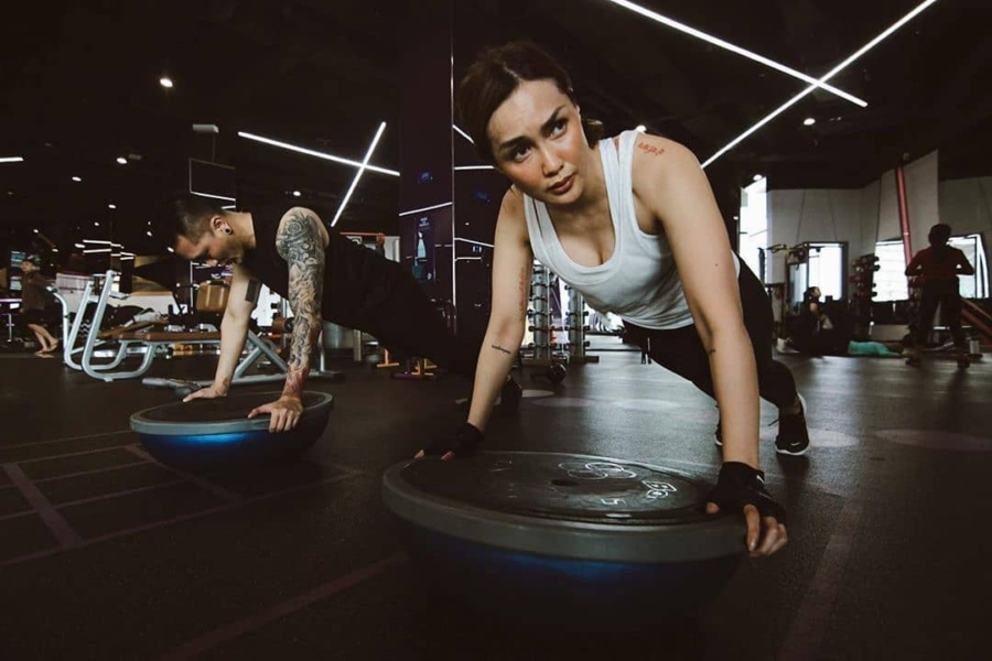 Fitness from home – Celebrity Fitness