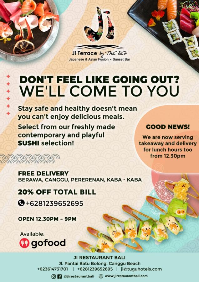 Ji Restaurant Japanese & Sushi, Sushi Delivery