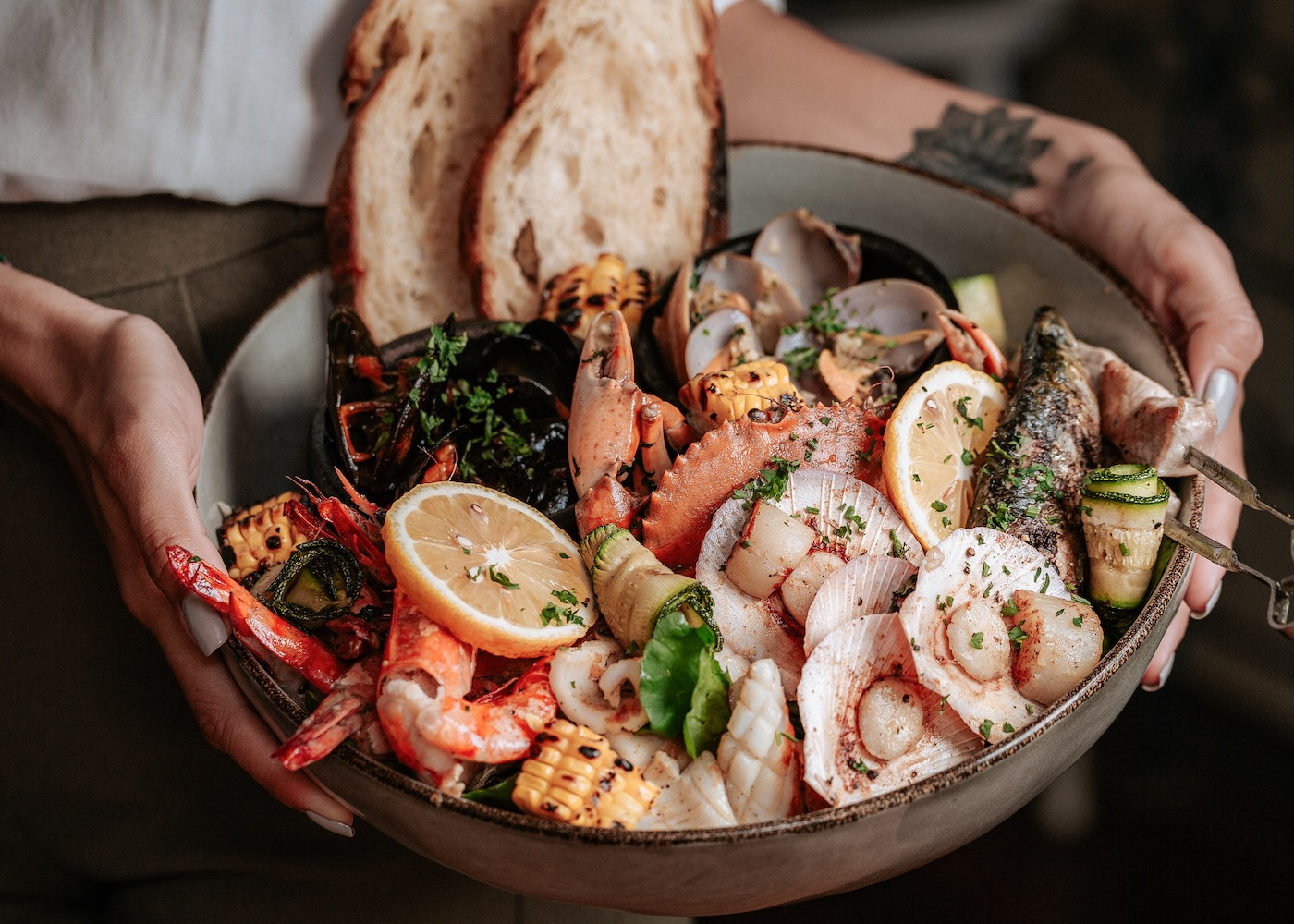 Hippie Fish Mediterranean restaurant ubud bali