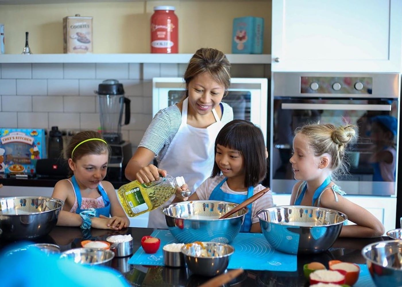 Cooking class with kids - one of the best things to do in Canggu