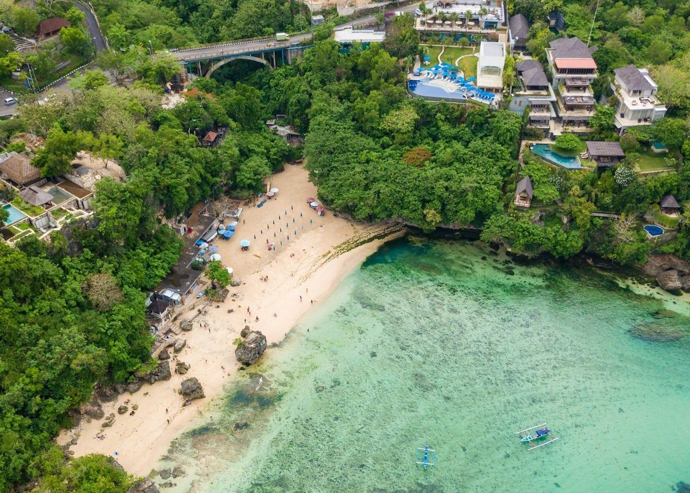 Padang Padang Beach in Bali Indonesia