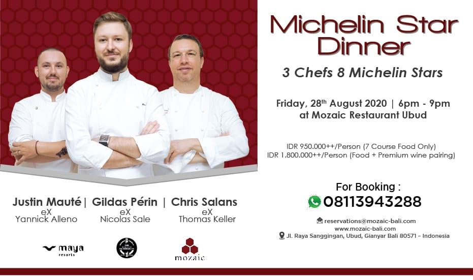 Michelin Star Dinner