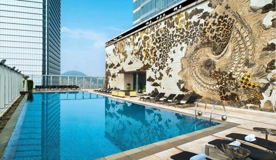 staycation W Hotel Hong kong swimming pool