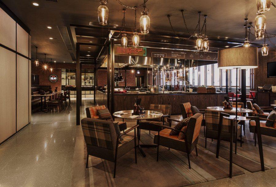 pentahotel Hong kong, Kowloon staycation restaurant interior