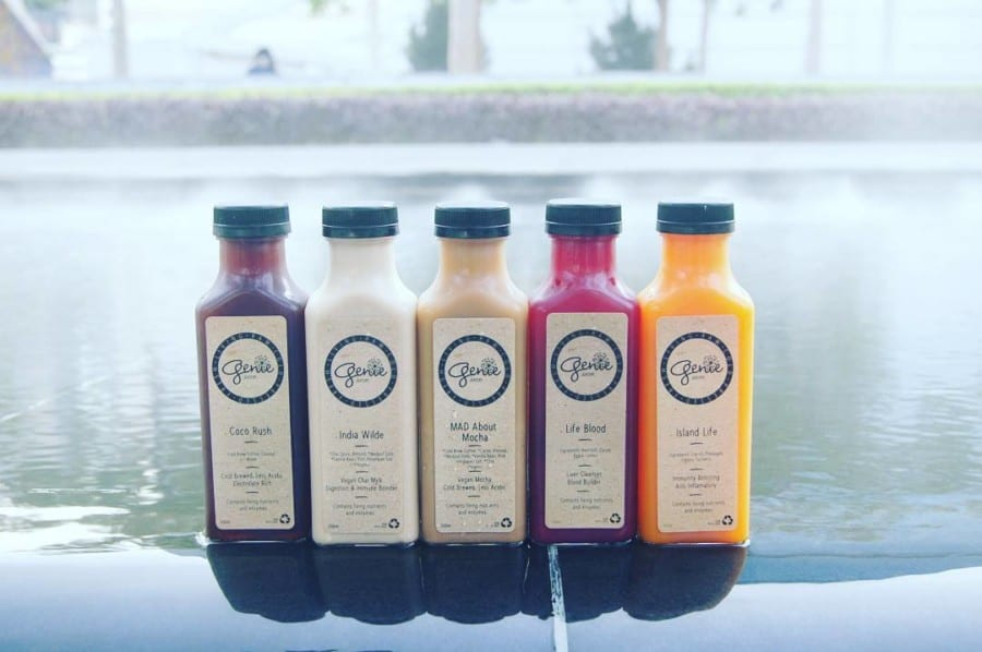 Genie Juicery best juice bars in Hong Kong