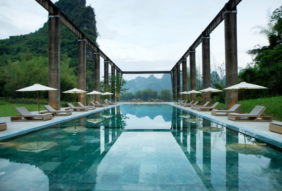 resorts in China Alila Yangshou