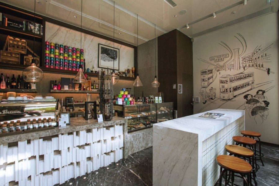 good cafes in Hong Kong artisan room interior