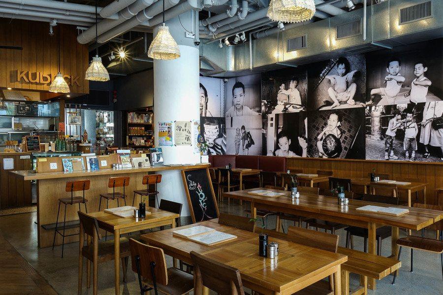 cafes in hongkong Kubrick interior