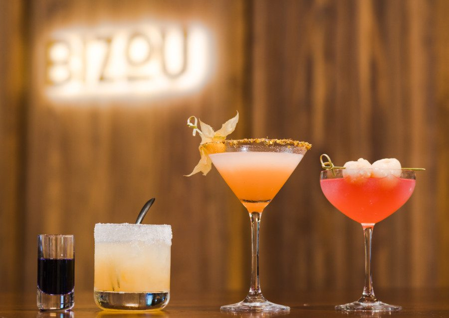 best happy hours hong kong cocktails Bizou