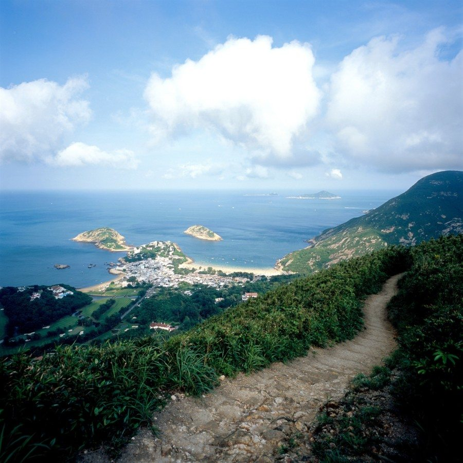 hiking hong kong dragons back