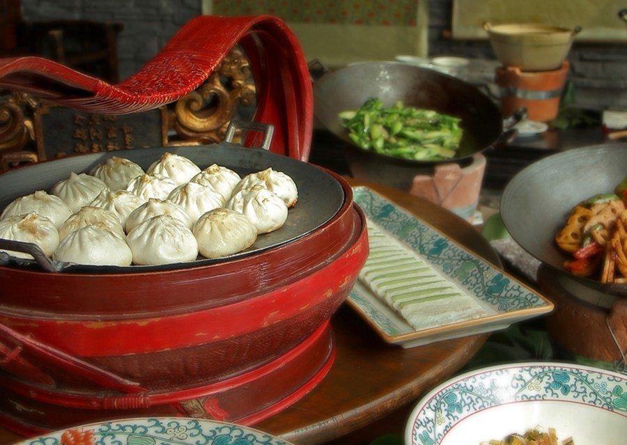 best brunch in Hong Kong Hutong dumplings