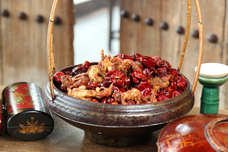 Hutong transports you back in time to old Beijing with their contemporary Sichuan cuisine