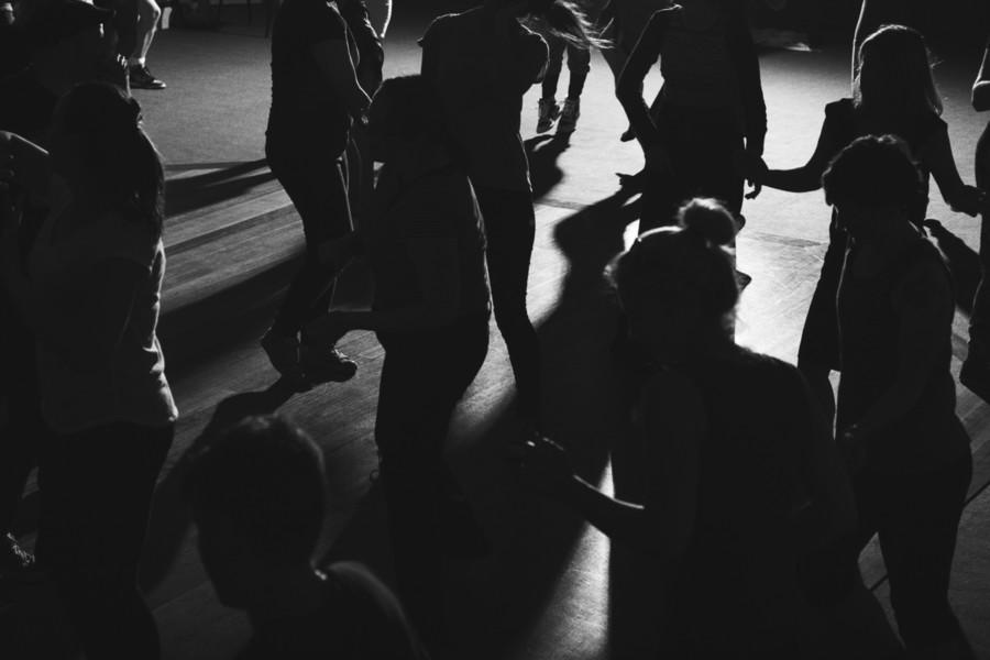 No Lights No Lycra dancing in the dark