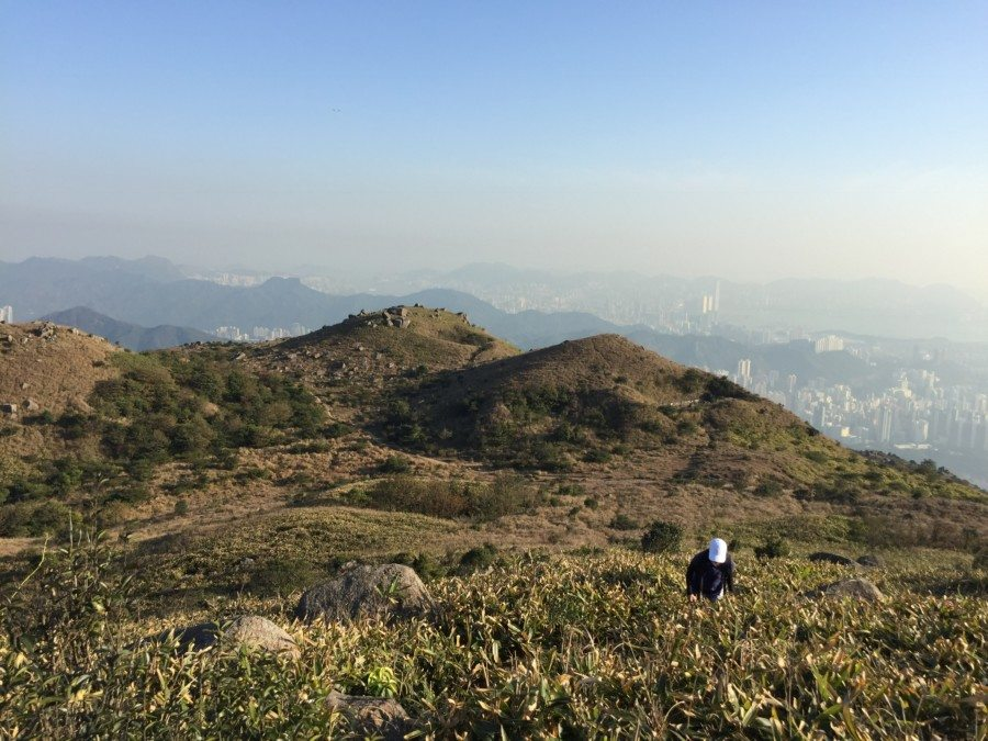 hiking hong kong macklehose trail