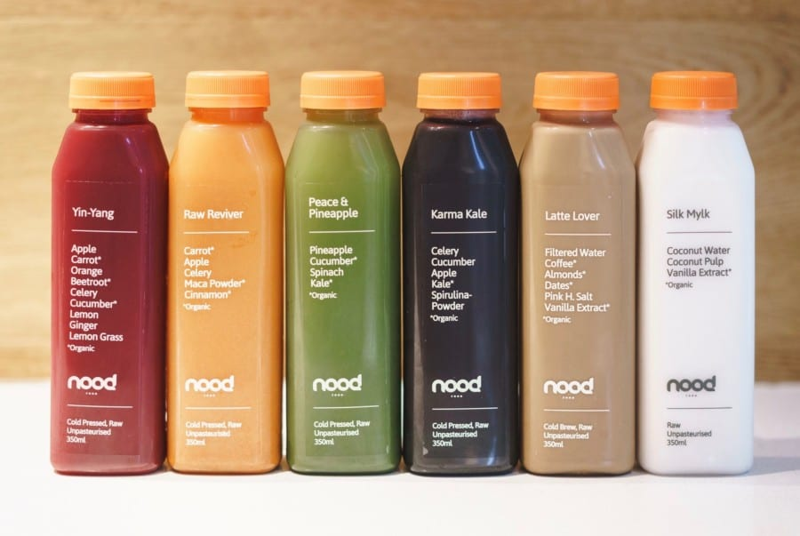 best juice bars in Hong Kong Nood Food best juice bars in Hong Kong
