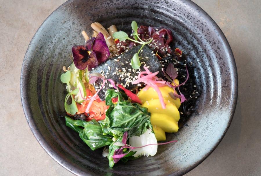 vegetarian restaurants in Sheung Wan grassroots pantry