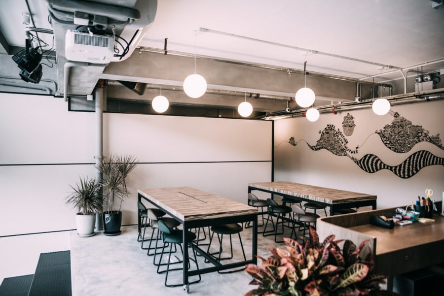 coworking spaces in Hong Kong Garage Collective