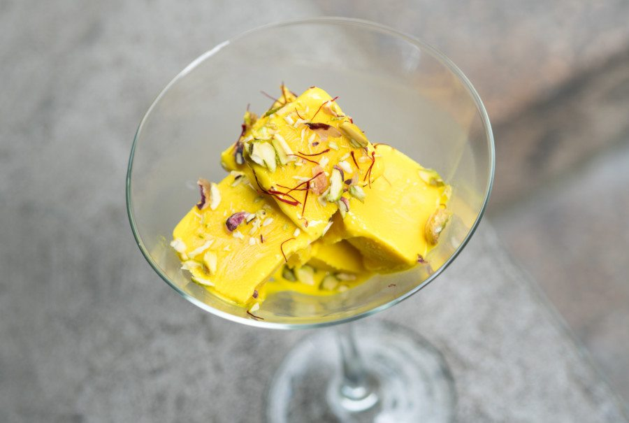 Hong Kong ice-cream shops The Kesar Kulfi at Bindaas Bar Kitchen