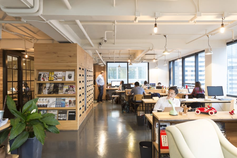 coworking spaces in Hong Kong The Hive