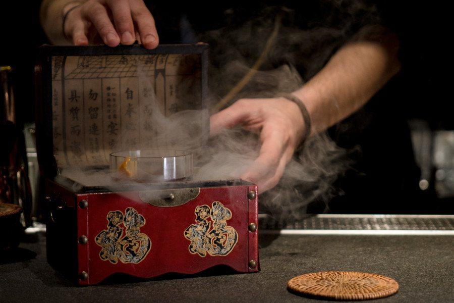 Tokyolima Restaurant Hong Kong Japanese Peruvian SMOKING GUN