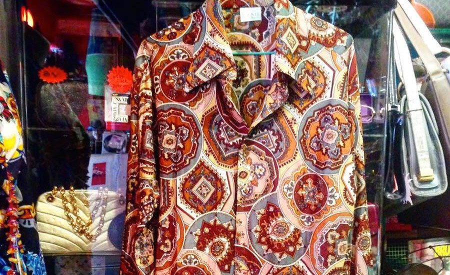 fashion boutiques in Central BANG BANG 70S vintage shirt