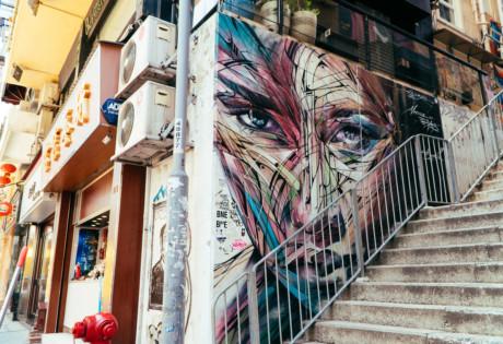 street art in Sheung Wan guide